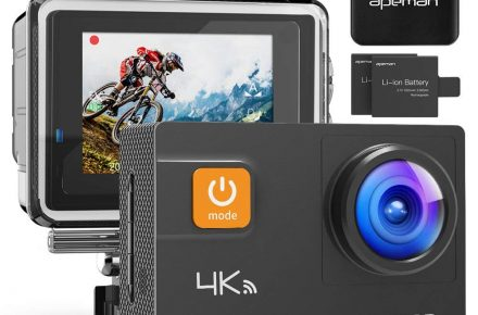 APEMAN Action Camera 4K 20MP